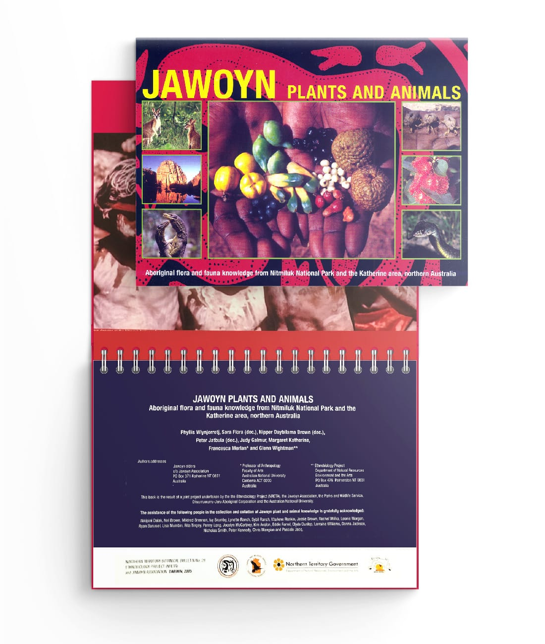 Jawoyn Book of Plants and Animals